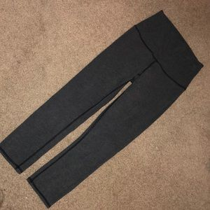 Lululemon Leggings: Cropped Wunder Under